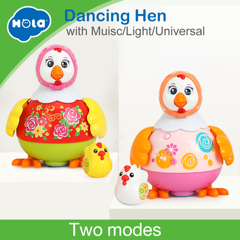 все цены на HUILE TOYS 6102 Baby Toys Electric Chicken Talking Sing & Dancing with Whistle Chick Learning Developmental Toys for Children онлайн
