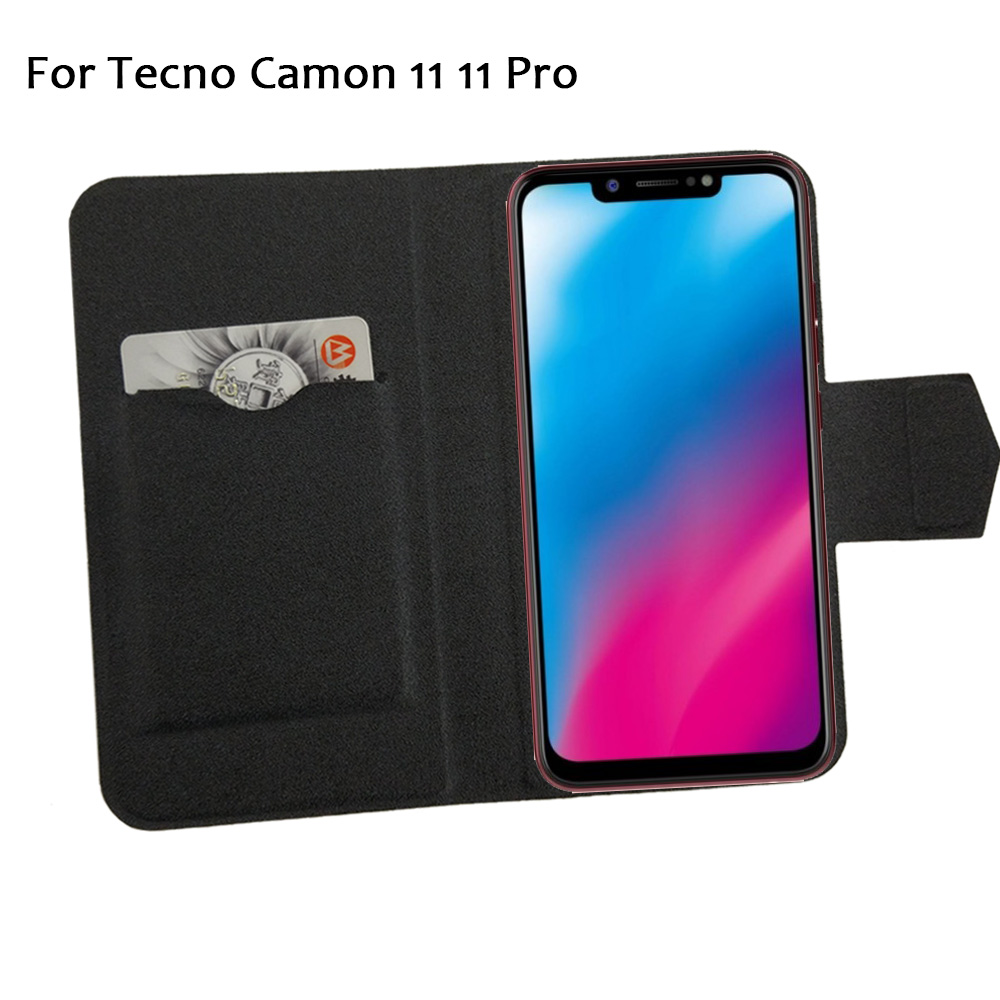 the best attitude 2f9ec 8658b 5 Colors Hot! Tecno Camon 11 11 Pro Case Phone Leather Cover,Factory Price  Protective Full Flip Stand Leather Phone Shell Cases