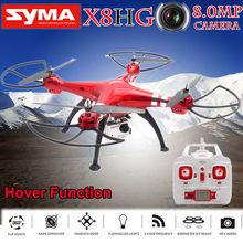 Livraison gratuite! Syma X8HG 6-Axis Gyro 2.4G RC Drone Quadcopter 8MP 1080 P HD Caméra RTF Sans Tête