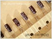 30 ШТ. ELNA RA2 Серии 3.3 мкФ/50 В Электролитические Конденсаторы для Аудио (Лента Пакет) бесплатная доставка