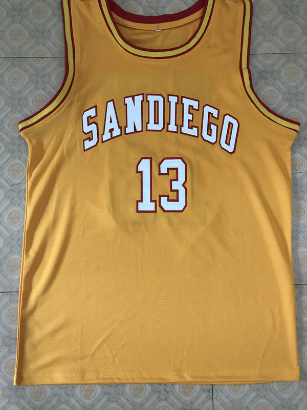 b59c2c2d7 13 Magic Johnson san diego college throwback Basketball Jersey All Size  Embroidery Stitched Customize any name and name