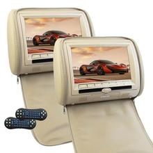 car pillow dvd cd Headrest Video DVD Player Eincar 9 Inch HD 30 Bits Games Digital