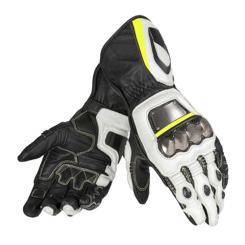 Nouveauté gants de course moto entièrement en métal Dain D1 Pro gants longs pour hommes tout-terrain