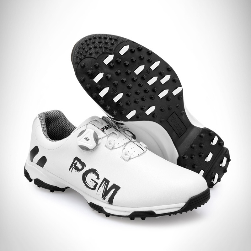 New Arrival 2019 Golf Shoes PGM Men s Sports Shoes Waterproof Anti skid Sport Sneaker Male