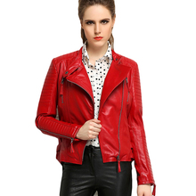 Luxury Genuine Real Sheepskin Leather Suede Coat Jacket Spring Autumn Women Outerwear Coats Garment 3XL LJ0631