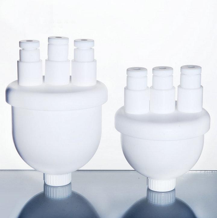 1PC 100ml to 1000ml White PTFE Flask, Teflon Flask, Three necks PTFE Reactor, Teflon Reactor sea to summit thermolite reactor