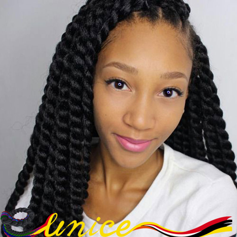 20 2pcs Marley Twist Hair Cheap Braiding Crochet Twist Hair Havana