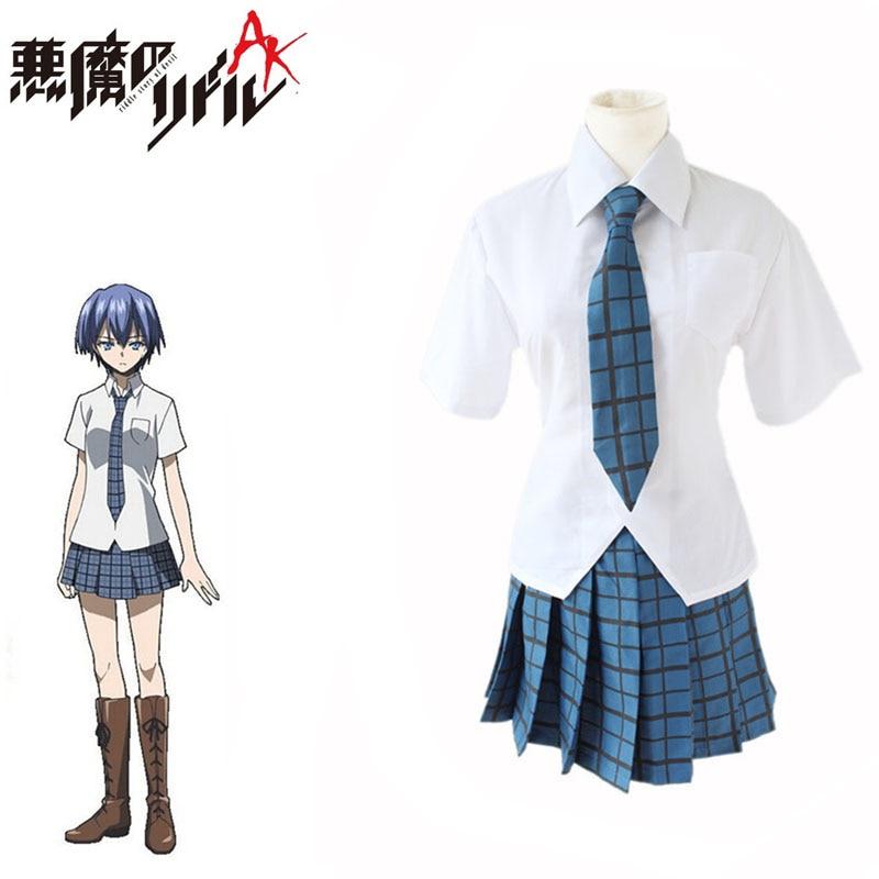 Akuma No Riddle Azuma Tokaku Cosplay Janpanese Anime Costumes For Girls School Uniforms Costumes Full Set For Halloween