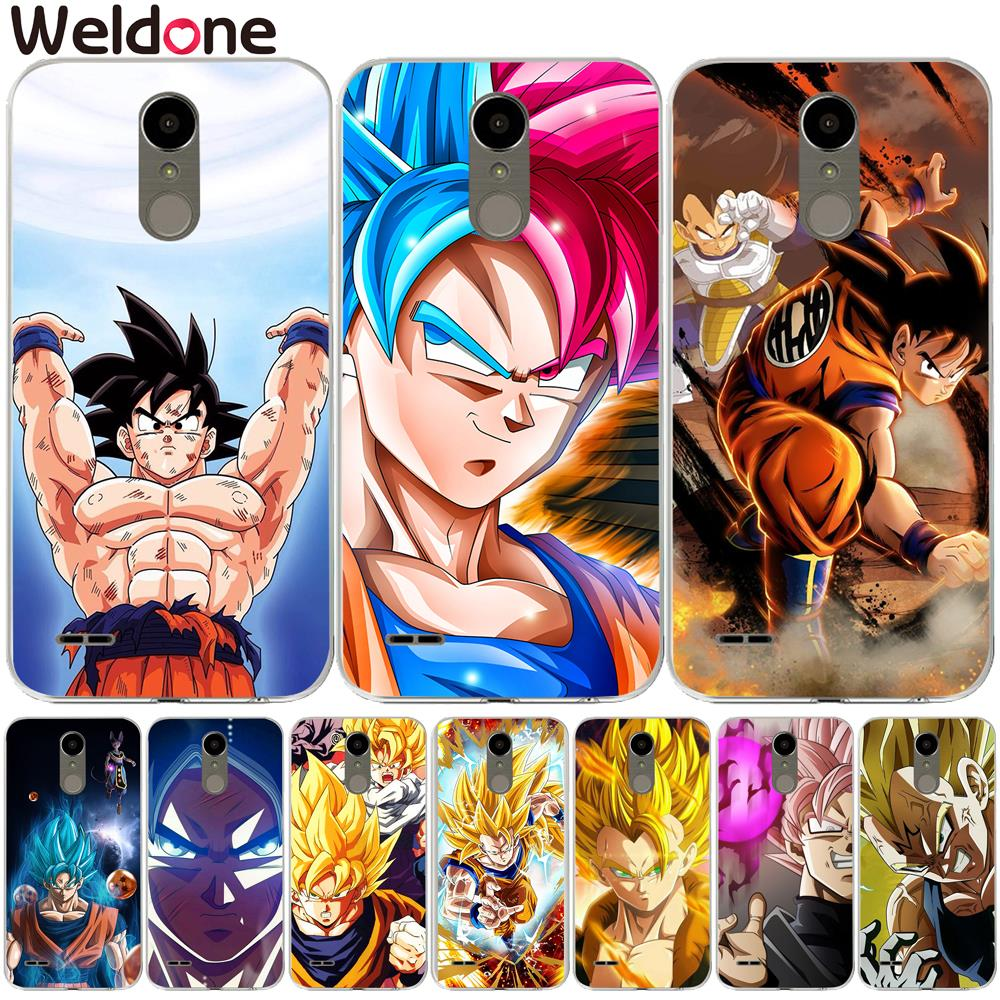 Dragon Ball Z Super DBZ Goku Fashion Cases For <font><b>LG</b></font> Q6 G6 G7 V30 XPower 2 3 <font><b>K4</b></font> K8 K10 2017 K7 XScreen G4 G5 case Etui <font><b>Cover</b></font> Coque image