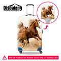 Horse Prints Travel Luggage Protective Cover Elastic Stretchable Dustproof Waterproof Luggage Cover Suit For 18-30 inch Suitcase