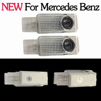 NEW 2x LED Car Door Courtesy Laser Logo Projector Light For Mercedes Benz W203 C Class