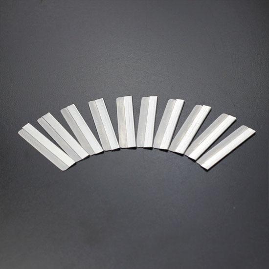 100pcs Steel <font><b>Single</b></font> Edge Razor Blades Salon Barber Shaving Cutting Tool Silver New