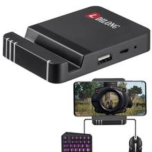 Портативная игровая клавиатура мышь преобразователь Bluetooth держатель телефона для смартфона портативная игровая клавиатура мышь
