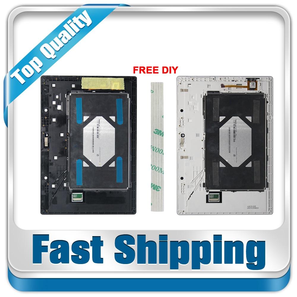 Nouveau Pour Lenovo Tab 2 A10-70 A10-70F A10-70L Remplacement ÉCRAN LCD Écran Tactile + Assemblage De Cadre 10.1