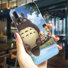 Anime Neighbor Totoro Hard Cover for Huawei Honor 8 Lite Colorful Phone Case  Back Covers
