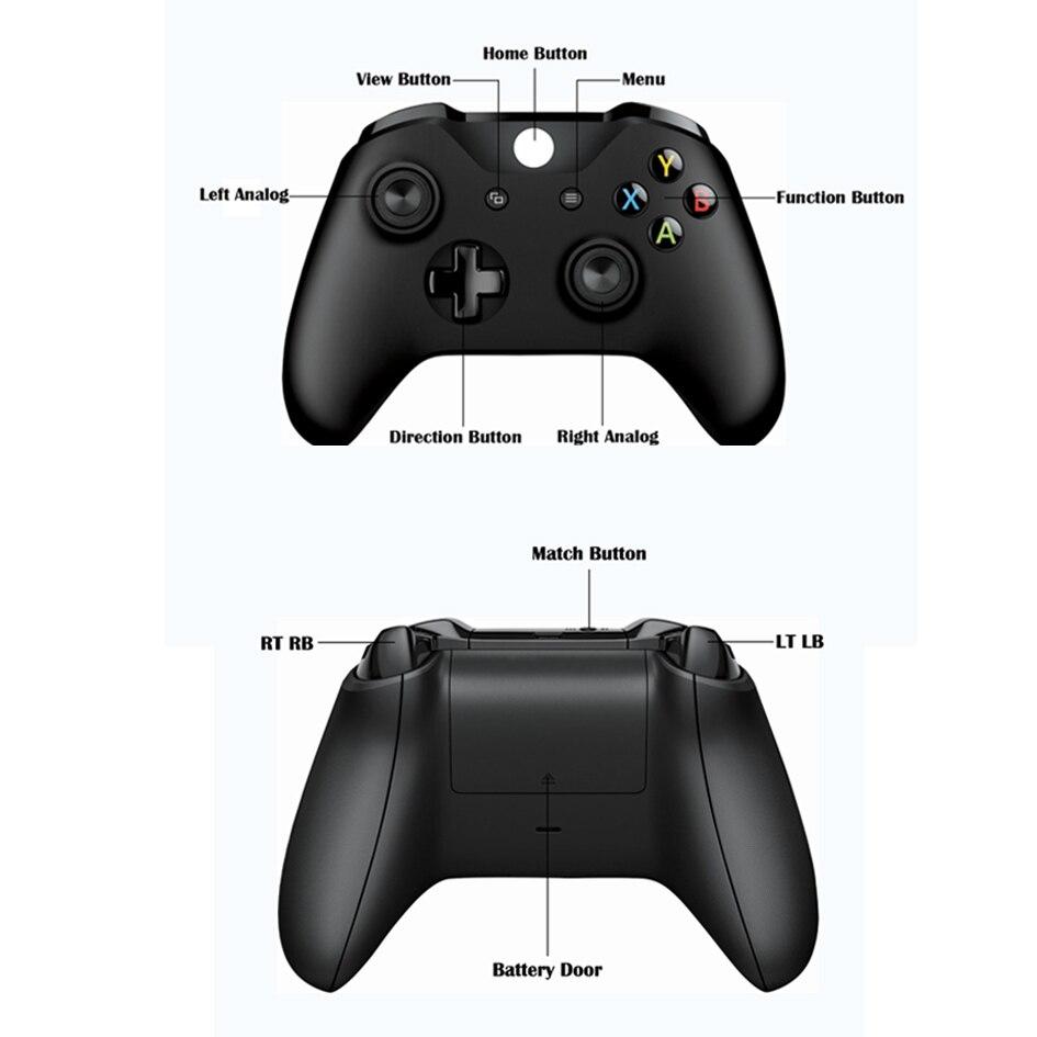 Za Xbox One Bežični Joystick Kontrolni daljinski upravljač Jogos - Igre i pribor - Foto 2