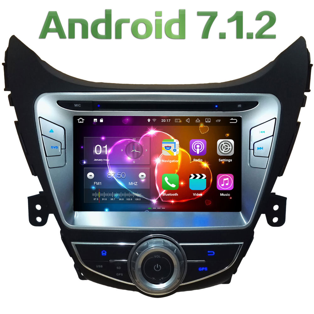 8 2GB RAM Android 7 1 2 Quad Core 4G WiFi Car DVD Player Radio Stereo