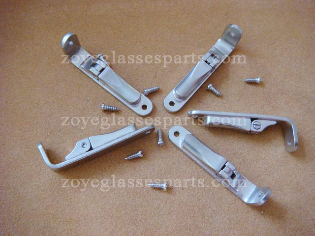 Spring Hinge For Timber Eyewear Frame,flex Hinges For Wood Sunglasses,screw On Eyeglass Hinges TSH-51 Ship In 2 Days Available