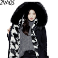 Winter Wool Liner Women's Outerwear Female Loose Medium-long Parks Casual Large Fur Collar Thickening Coats Manteau Femme YM138