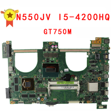 Original Q550JV N550JA N550JV Laptop anakart i5-4200HQ CPU N550JV ANA KURULU REV 2,0 60NB00K0-MB9110 100% Test