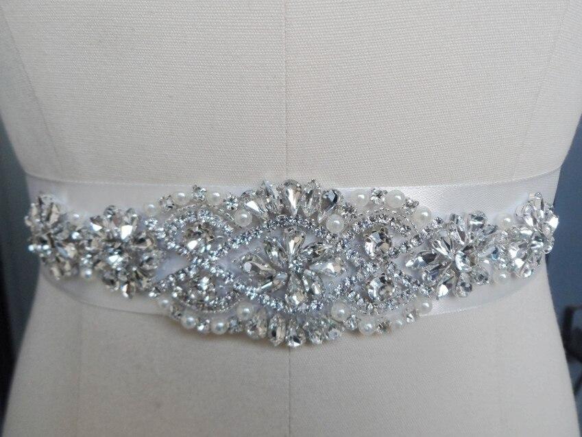 Buy 2017exquisite handmade bridal belt for Wedding dress accessories belt