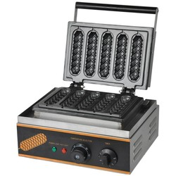 220V or 110V  electric 5 pieces French Muffin  waffle dog machine