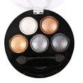 Profesional de Maquillaje de Ojos Sombra de ojos del Pigmento 5 Colores de Sombra de Ojos Paleta de Belleza Nueva