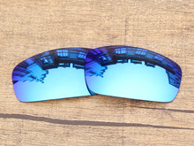 Polycarbonate Ice Blue Mirror Replacement Lenses For Monster Pup Sunglasses Frame 100 UVA UVB Protection