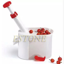 Kitchen Tools Novelty Super Cherry Pitter Stone Remover Machine Cherry Corer With Container Kitchen worldwide Store Universal