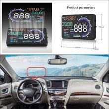 Car HUD Head Up Display For Infiniti QX60 QX70 QX80 2015 2016 – Safe Driving Screen Projector Inforamtion Refkecting Windshield