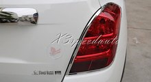 Free Shipping Chromed Tail Rear Light Lamp Cover Trim For Chevrolet Chevy TRAX 2014+