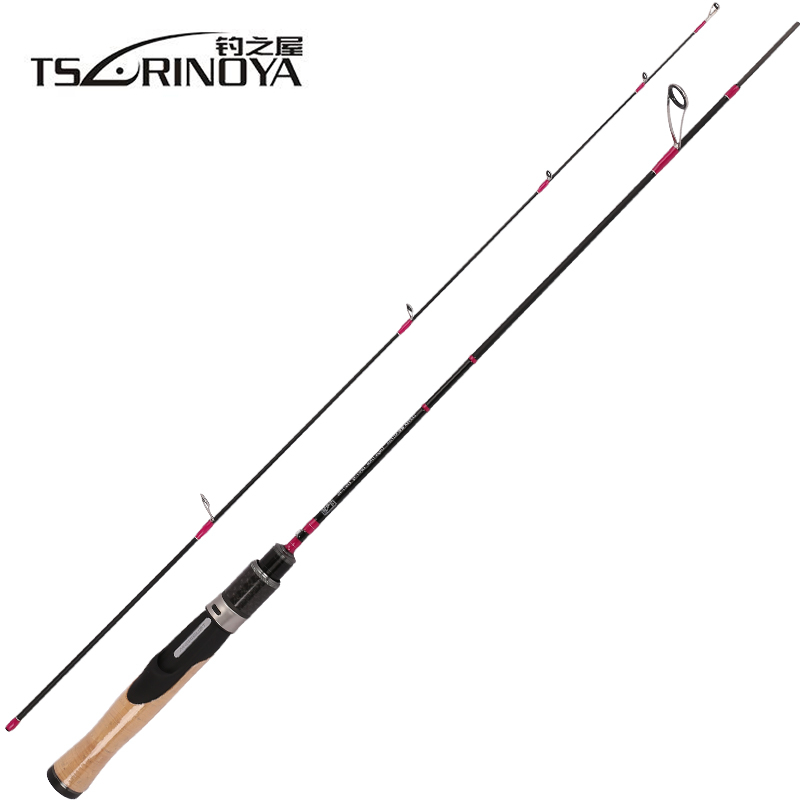 TSURINOYA CLEVER 2 Secs Spinning/Casting Fishing Rod UL/L Fast 1.19m/1.57m/1.60m Trout Lure Rods FUJI Accessories Pesca Stick tsurinoya 2 sections spinning fishing rod 2 01m 2 13m ml m carbon lure rods fuji accessories action fast pesca tackle stick