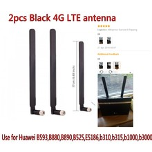 2PCS 4G LTE router Huawei B593 antenna 4G LTE antenna SMA connector,black/white color