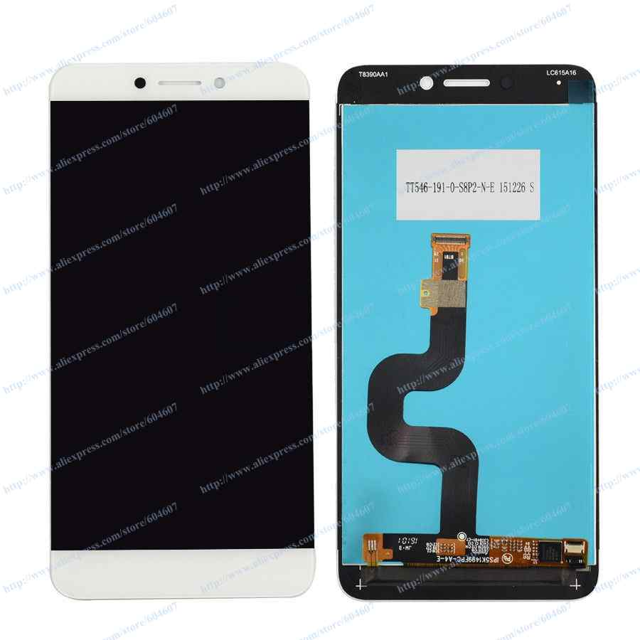 все цены на  New Sliver White OEM Touch Screen Digitizer+LCD Display Assembly For LeTV LeEco Le 2 X620 Phone  онлайн