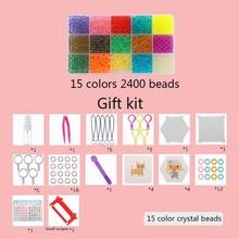 Лидер продаж! Aqua Beads комплект 3D Логические игрушки с Шаблоны Perler бисер Aquabeads Перлен детские развивающие игрушки 5 мм Hama Бусы