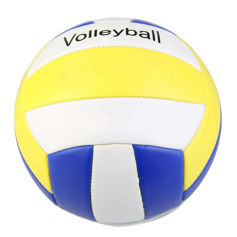1*Soft Touch Volleyball PU Leather Match Training Volleyball Adult Kids Beach Game Play Balls For Indoor Outdoor Sports