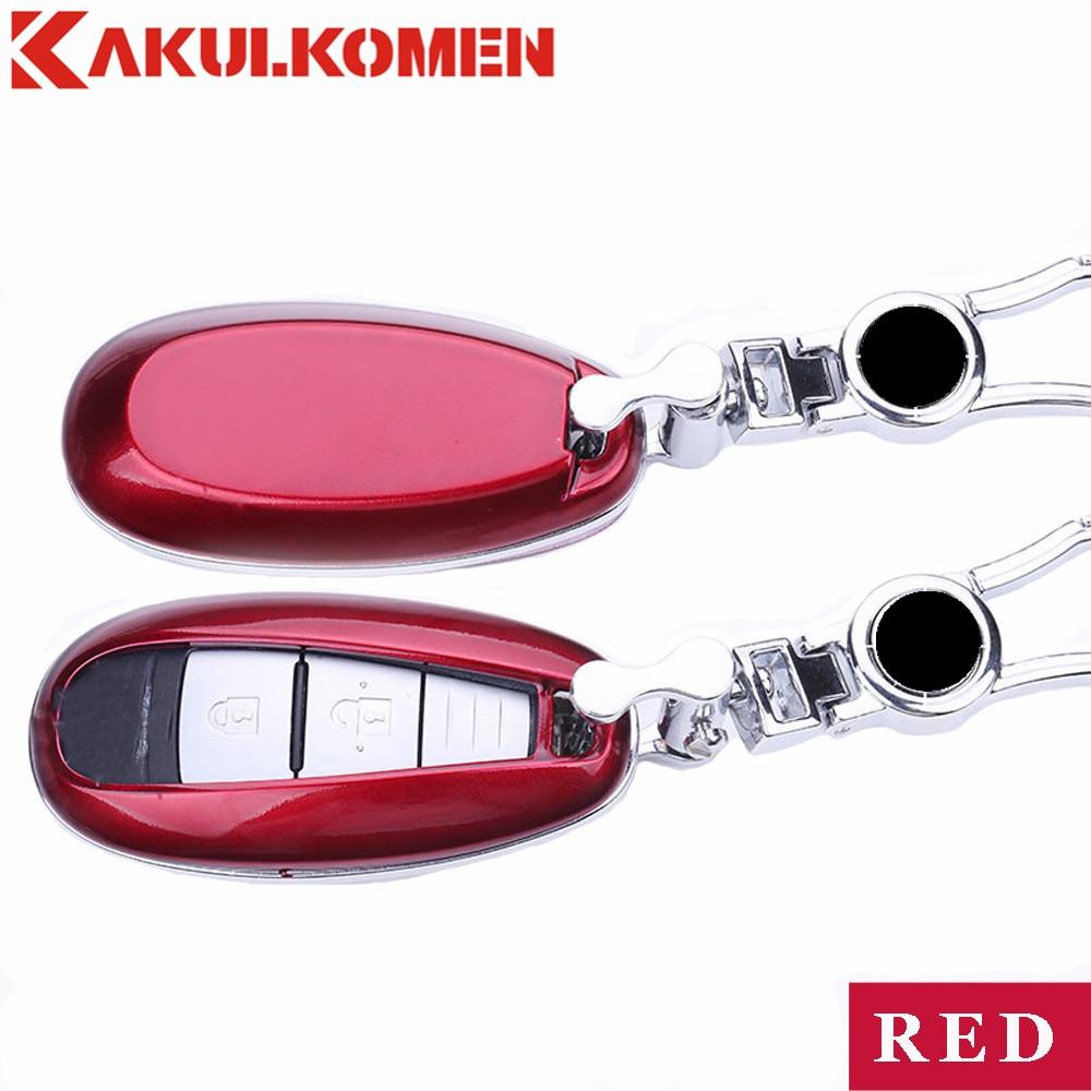 Best 3 buttons Car Key Fob Cover Key case wallet exclusive bag house For Suzuki S-Cross Alivio Kizashi Swift sport autoparts knaus s dwind exclusive