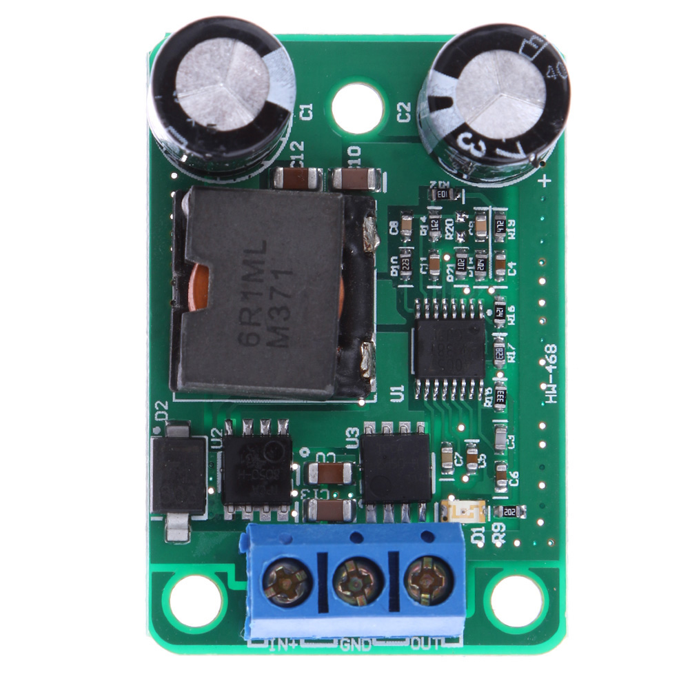 1pc 24V 12V 9V to 5V 5A 25W DC-DC Step Down Buck Converter Power Supply Module High Quality PCB pka2211pi 24v 5v 25w dc dc power supply module