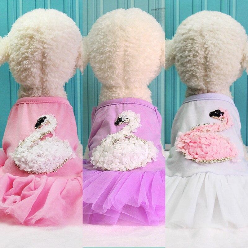 Tienda Online Venta caliente lindo perro vestidos princesa Floral ...