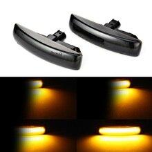 2 pcs Led דינמי צד מרקר הפעל אות אור סדרתית נצנץ אור לנד רובר Discovery3 4 Freeland2 טווח רובר ספורט