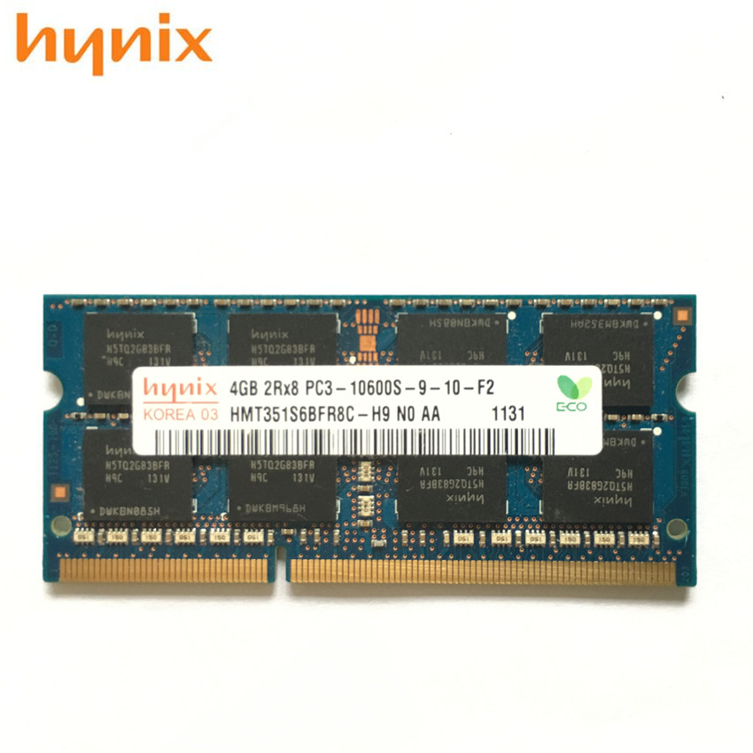 Major Brand 4GB DDR3-1333MHz PC3-10600S SO-DIMM Memory  Laptop RAM 2x2GB