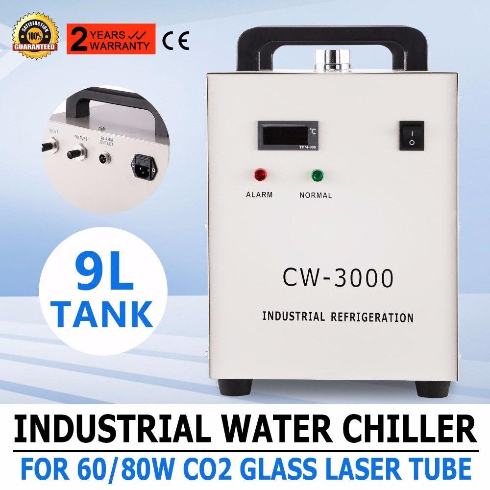 CW-3000 Refroidisseur d/'eau d/'Industrielle pour CO2 Tube Laser Graveur Machine