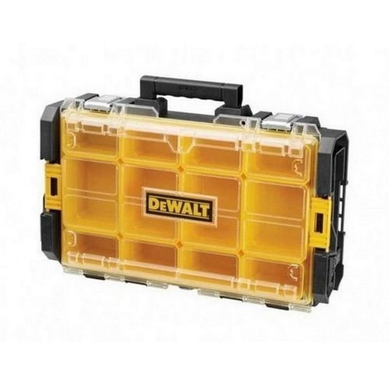 DEWALT DWST1-75522-Organizer With Lid Transparent DS100