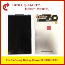 """10 sztuk/partia wysokiej jakości 4.8 """"dla Samsung Galaxy Xcover 3 G388 G388F wyświetlacz Lcd ekran darmowa wysyłka + śledzenia kod"""