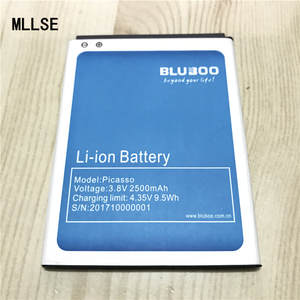MLLSE 2500mAh Picasso Battery for Bluboo Picasso 3G 4G 5.0inch mobile phone Li-on Batteries