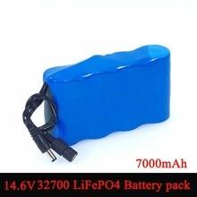 14.6V 10V 32700 LiFePO4แบตเตอรี่7000MAh High Power Discharge 25Aสูงสุด35Aสำหรับเจาะไฟฟ้าSweeperแบตเตอรี่
