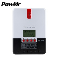 MPPT 20A/30A/40A/60A Solar Charge Controller LCD Solar Regulator solar system controller auto voltage identification