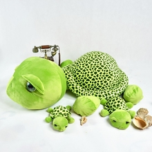 30/40/60 cm Simulation Sea Turtle Plush Toy Stuffed Animal Toys For Children Education  Home Decoration Decent Bed