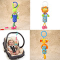 Baby Kids Animal Plush Rattles Toys Stroller Hanging Bell Pram Doll Gifts