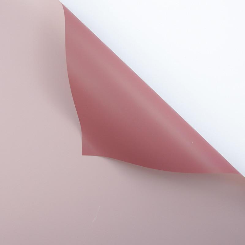 60 см* 10 м/рулон конфеты цвет цветок оберточная бумага Роза свадебная бумага для украшения на рождество упаковка букета материал - Color: P